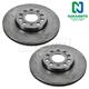 1ABFS01299-Brake Rotor Front Pair  Nakamoto 34303