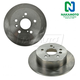 1ABFS01293-Brake Rotor Rear Pair