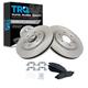 1ABFS01292-Brake Pad & Rotor Kit Front