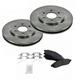1ABFS01291-Brake Pad & Rotor Kit Front
