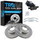 1ABFS01611-BMW Brake Pad & Rotor Kit Front