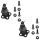 1ASFK00258-Dodge Dakota Durango Ball Joint Pair Front