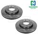 1ABFS01660-Brake Rotor Front Pair  Nakamoto 5171238300