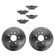1ABFS01657-Saab 9-5 Brake Kit  Nakamoto MD763  34209