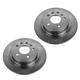 1ABFS01653-Saab 9-5 Brake Rotor Rear Pair  Nakamoto 34209
