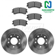 1ABFS01648-2003-05 Mazda 6 Brake Kit  Nakamoto MD957  GK2Y-33-25XD