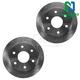 1ABFS01642-Brake Rotor Front Pair  Nakamoto 5569