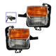 1ALFP00231-2003-07 Cadillac CTS Turn Signal Fog Driving Light Pair