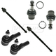 1ASFK01158-Ball Joint & Tie Rod End Kit Front
