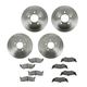 1ABFS01512-Brake Pad & Rotor Kit Rear Front