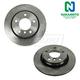 1ABFS01515-BMW Brake Rotor Rear Pair  Nakamoto 34220