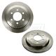 1ABFS01546-2007-14 Brake Rotor Rear Pair