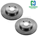 1ABFS01538-Mini Cooper Brake Rotor Front Pair  Nakamoto 34111502891