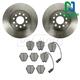 1ABFS01564-Audi A6 S6 Brake Pad & Rotor Kit Nakamoto MD839  34229