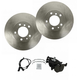 1ABFS01569-BMW Brake Pad & Rotor Kit Front