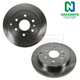 1ABFS01573-Brake Rotor Rear Pair  Nakamoto 22768973