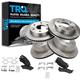 1ABFS01597-Brake Pad & Rotor Kit