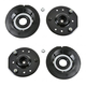 1ASFK00327-Strut Mount with Bearing & Spring Seat Front Pair