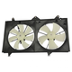 1ARFA00078-Toyota Camry Solara Radiator Dual Cooling Fan Assembly