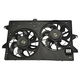 1ARFA00050-Radiator Dual Cooling Fan Assembly