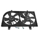 1ARFA00026-2000-01 Infiniti I30 Nissan Maxima Radiator Dual Cooling Fan Assembly