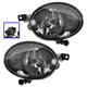 1ALFP00294-Volkswagen Beetle Golf Jetta Fog / Driving Light Pair