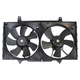 1ARFA00086-1998-01 Nissan Altima Radiator Dual Cooling Fan Assembly