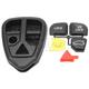 1AKRR00007-Volvo S60 S80 V70 Keyless Remote Insert & Case