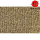 ZAICK00258-1989 Dodge W100 Truck Complete Carpet 7140-Medium Saddle