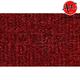 ZAICK00255-1989-93 Dodge D350 Truck Complete Carpet 4305-Oxblood
