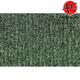 ZAICK17486-1982-88 Oldsmobile Firenza Complete Carpet 4880-Sage Green