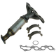 1AEEM00803-2006-09 Ford Fusion Mercury Milan Exhaust Manifold with Catalytic Converter Assembly