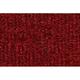 ZAICK07362-1990-91 GMC C2500 Truck Complete Carpet 4305-Oxblood