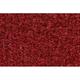 ZAICK07396-1979-80 GMC C3500 Truck Complete Carpet 7039-Dark Red/Carmine