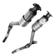 1AEMK00149-Audi A4 Quattro Exhaust Pipe with Catalytic Converter Front