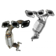 1AEMK00151-2007-08 Ford Escape Mercury Mariner Exhaust Manifold with Catalytic Converter Assembly Pair