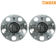 TKSHS00123-2006-11 Honda Civic Wheel Bearing & Hub Assembly Pair Rear  Timken HA590152