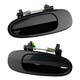 1ADHS00072-Exterior Door Handle Pair Rear Black