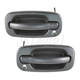 1ADHS00073-Exterior Door Handle Pair Front Flat Black