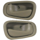 1ADHS00122-1998-02 Chevy Prizm Toyota Corolla Interior Door Handle Pair