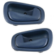 1ADHS00140-1998-02 Chevy Prizm Toyota Corolla Interior Door Handle Pair