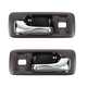 1ADHS00032-1990-93 Honda Accord Interior Door Handle Pair