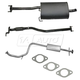 1AEMK00096-2000-02 Hyundai Accent Complete Cat Back Exhaust System