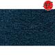 ZAICK07940-1974 Dodge D100 Truck Complete Carpet 7879-Blue