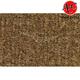 ZAICK23156-1975-79 Ford F150 Truck Complete Carpet 4640-Dark Saddle