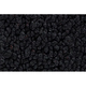 ZAICK07997-1965 International Pickup Passenger Area Carpet 01-Black