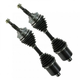 CAACS00009-1995-05 CV Axle Shaft Front Pair A1 Cardone 66-1323