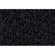 ZAICK07894-1967-72 Chevy C10 Truck Passenger Area Carpet 01-Black