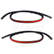 1AWSK00293-1997-04 Chevy Corvette Fender to Hood Weatherstrip Seal Pair