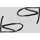 1AWSK00254-1997-03 Jeep Wrangler Window Glass Run Channel Seal Pair